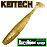 Keitech Easy Shiner 5 Gummifisch Farbe Golden Shiner gesalzen & aromatisiert 5 Stück im Set