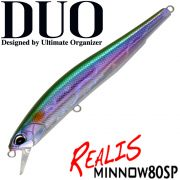 DUO Realis Minnow 80SP Wobbler 80mm 4,7g Suspending Farbe All Bait Twitchbait Barsch&Zanderköder