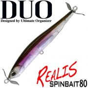 DUO Realis Spinbait 80 Propeller Bait 80mm 9,4g Sinking Farbe Lucid Wakasagi Barsch&Zanderköder