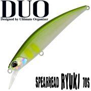 DUO Spearhead Ryuki 70S Wobbler 70mm 9g Sinkning Farbe Pearl Ayu Twitchbait Barsch&Zanderköder