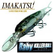 Imakatsu Baby Killer Bill Minnow Jointed Wobbler 3 ca. 7,5cm 4,3g Suspending Farbe Alumina Hasu Soft-Tail