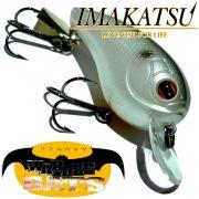Imakatsu Waddle Bats Dive Crankbait Wobbler 5,6cm 10,5g Floating Farbe Silver Shiner Hecht & Barschköder