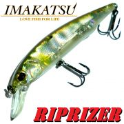 Imakatsu RipRizer 90 Wobbler 90mm 10,3g Floating Farbe Flash Ayu Hecht & Barschköder