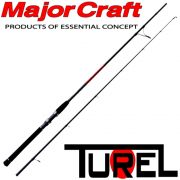Major Craft TUREL Basic TUS-862M Light Spinnrute 79 2,36m WFG 7-28g 2 teilig Fast Action Barsch&Zanderrute
