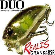 DUO Realis Crank 48 SR Crankbait 48mm 7g Floating Farbe Half Mirror Ayu (R50) Wobbler Barsch&Hechtköder