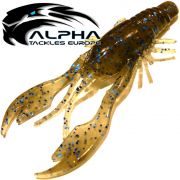 Alpha Tackles A-Factor Killer Prawn 4 Black Blue Glitter