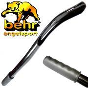 Behr Mega Stick Boilie-Wurfrohr ca. 60cm für Boilies bis 25mm mit gummiertem Handgriff zum werfen von Boilies & Partikeln