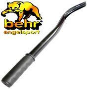 Behr Mega Stick Boilie-Wurfrohr ca. 60cm für Boilies bis 19mm mit gummiertem Handgriff zum werfen von Boilies & Partikeln