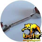 Behr Aal - Glock / Signaglocke / Fishing Bell mit Klemme aus Metall kein Kunststoff 2 Stück im Set
