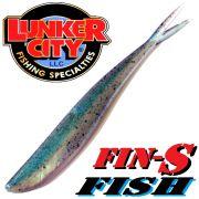 Lunker City Fin-S-Fish Gummifisch 5 -12,5cm Farbe Shore Minnow No Action Shad Barsch & Zanderköder
