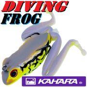 Kahara Diving Frog tauchender Gummifrosch ca. 60mm 17,2g Farbe JP Toad Top Hechtköder
