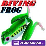 Kahara Diving Frog tauchender Gummifrosch ca. 60mm 17,2g Farbe Red Eye Tree Frog Top Hechtköder