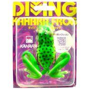 Kahara Diving Frog tauchender Gummifrosch ca. 60mm 17,2g Farbe JP Tree Frog Top Hechtköder