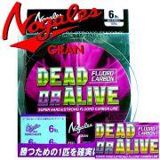 Gran Nogales Dead or Alive Fluorcarbon Stärke 0,370mm Tragkraft 18lb - 8,1kg Länge 100m Super Hard & Strong