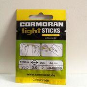 Cormoran LIGHTSTICK Knicklichter Small Farbe Gelb Länge 25mm Durchmesser 3mm 2 Stück im Set