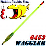 FTM Stab Waggler 6453 Set vorgebleit mit kräftiger Plexiglasantenne 3 Tragkräfte je 3 Stück = 9 Stück im Set