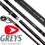 Greys Prowla Catfish Spinnrute WFG -160g Länge 2,74m Gewicht 330g High Modulus Blank & Anti-Tangle Spitzenring