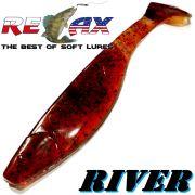 Relax Kopyto River 6 ca. 16cm Farbe Kaulbarsch Swimbait der ideale Großhecht & Welsköder für Bodden & Co.