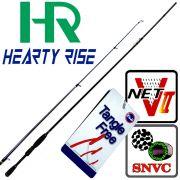 Hearty Rise Zander Force ZF-832HH Spinnrute WFG 15-40g Länge 2,51m SNVC NET-V II Blank Tangle Free Guides Top Zanderrute