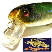 Coyote Pro Lures Carvex Jointed Wobbler ca. 11cm 22g Farbe 01AT Green&Silver Hecht & Zanderköder
