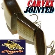 Coyote Pro Lures Carvex Jointed Wobbler 11cm 22g Farbe 05AT White Fish Hecht&Zanderköder
