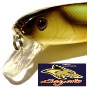 Coyote Pro Lures Carvex Jointed Wobbler 11cm 22g Floating Farbe 09AT Green White Brown Custom Paint Hecht&Zanderköder
