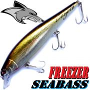 Coyote Pro Lures Freezer Seabass Wobbler 14cm 24,5g Gold Brown Silver made in Japan