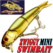Coyote Pro Lures Zwiggy Mini Swimbait Jointed 13,5cm 20g Farbe 09AT Wobbler
