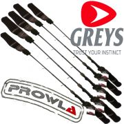 Greys Prowla Tip & Butt Protectors Neopren Rutenspitzen & Handteilschutz Set 10 teilig für 5 Ruten