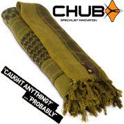 Chub Cotton Shemagh Baumwollschal warmer Halsschutz Wärmeisolierung für Freizeit, Outdoor & Angeln