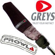 Greys Prowla Tip & Butt Protectors Neopren Rutenspitzen & Handteilschutz Set 4 teilig für 2 Ruten