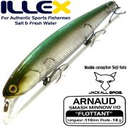 Illex Arnaud 110F Wobbler Floating 18g Farbe Lancon Design by Seiji Kato