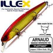 Illex Arnaud 110F Wobbler Floating 18g Farbe HL Wakin Design by Seiji Kato