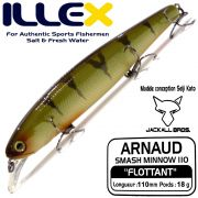 Illex Arnaud 110F Wobbler Floating 18g Farbe Perch Design by Seiji Kato