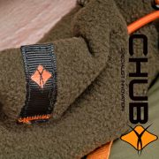 Chub Fleece Gaitor Fleece-Sturmkragen Halsschutz mit Thermatex 300 Wärmeisolierung für Freizeit, Outdoor & Angeln