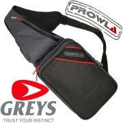 Greys Prowla Sling Bag Angeltasche Ködertasche mit 2 Köderboxen ideal für Spinnangler die Bewegungsfreiheit brauchen