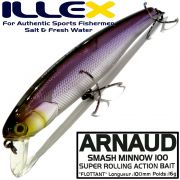 Illex Arnaud 100F Wobbler Floating 100mm 16g Farbe SG Wakasagi Design by Seiji Kato