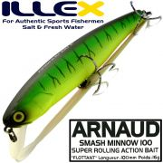 Illex Arnaud 100F Wobbler Floating 100mm 16g Farbe Mat Tiger Design by Seiji Kato