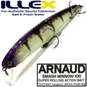 Illex Arnaud 100F Wobbler Floating 100mm 16g Farbe Table Rock Perch Design by Seiji Kato