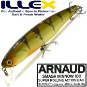 Illex Arnaud 100F Wobbler Floating 100mm 16g Farbe Perch Design by Seiji Kato