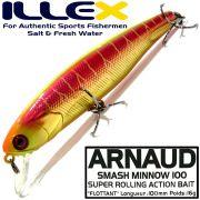 Illex Arnaud 100F Wobbler Floating 100mm 16g Farbe Visible Spawning Tiger Design by Seiji Kato