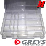 Greys Prowla Lure Box Medium Köderbox Größe Medium 27X18X4cm Kunstköderresistent
