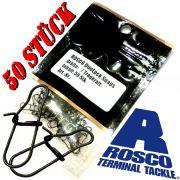 Rosco DuoLock Snaps Gr.4 Einhänger Tragkraft 22,6kg Farbe Matt Schwarz 50 Stück