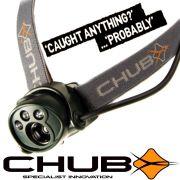 Chub SAT-A-LITE SL-200 Kopflampe mit CREE High Power LED 51lm Focus + 2 Roten LEDs für Nachtsicht