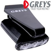 Greys LED Cap Light für Basecaps inkl. 2 LEDS im weiß 30lm + 1 LED in Rot 1.8lm für unsere Nachtangler