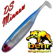 Behr Trendex Drop Shot Minnow 10cm Farbe 05 / Bluefish 4 Stück im Set Barsch, Döbel & Forellenköder