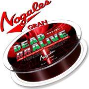 Gran Nogales Dead or Alive Nylon Hauptschnur mit 6lb - 2,72kg Tragkraft und 0,205mm Durchmesser