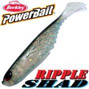 Berkley Power Bait Ripple Shad 5 Gummifisch 13cm Ghost Bleak