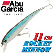 Abu Garcia Rocket Minnow Wobbler 11cm 15g Suspending Mackerel