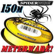 Spiderwire Ultrcast 8 Carrier Ultimate Braid HI-VIS Yellow in 0,12mm 9,1kg 150m Meterware
